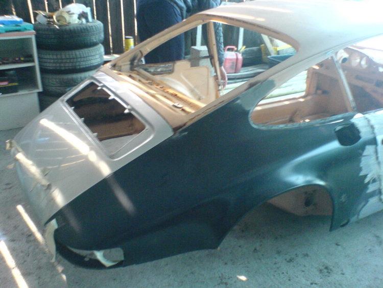 Porsche 2.4E 1972 - Restauration carrosserie