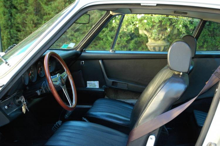 Porsche 2.4E 1972 - Restauration interieur