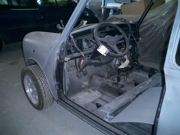 Austin Mini Cooper - Restauration intérieur