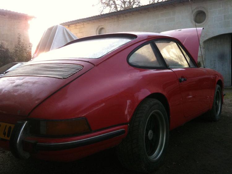 Porsche 2.2S 1971 SONAUTO - Barn find
