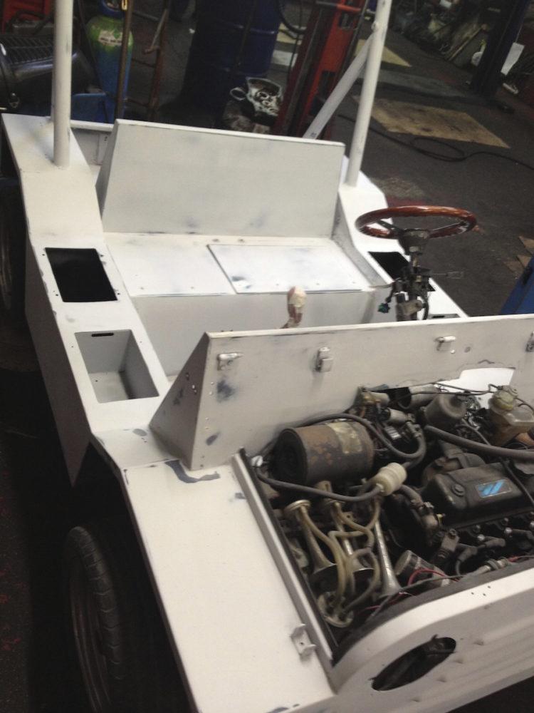 Mini Moke Schmitt de 1983 - Réfection moteur