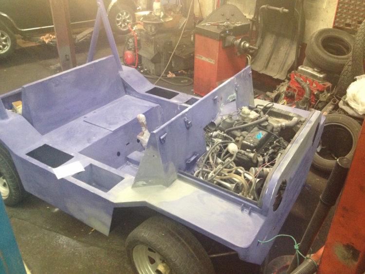 Mini Moke Rhubon 1981 - Restauration carrosserie