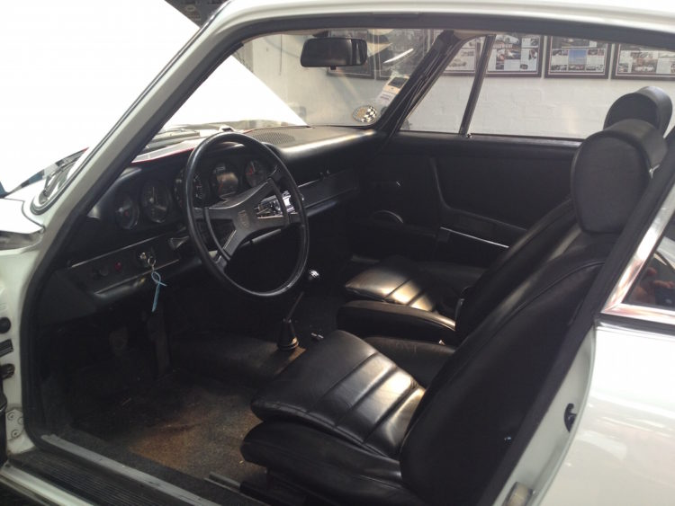 Porsche 2.4E 1972 Italienne - Restauration intérieur