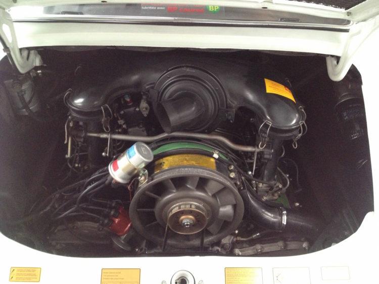 Porsche 2.4E 1972 Italienne - Réfection moteur