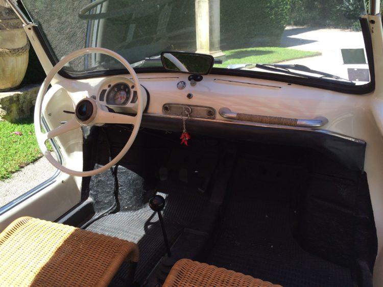 Fiat 600 Jolly - Tableau de bord