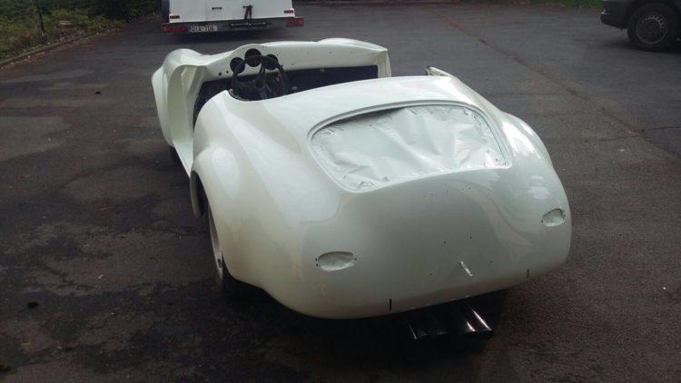356 Speedster - Conception carrosserie
