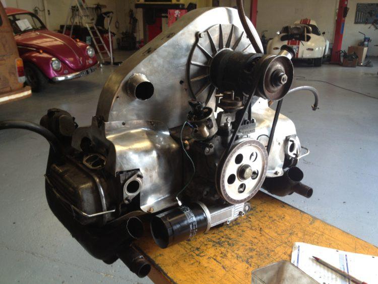 356 Speedster - Restauration moteur