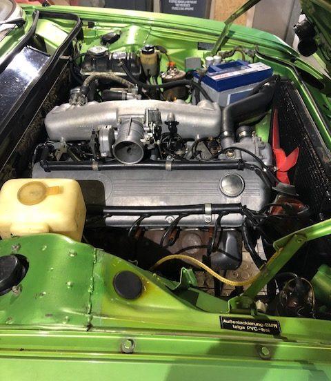 BMW 3.0SI 1973 - Réfection moteur
