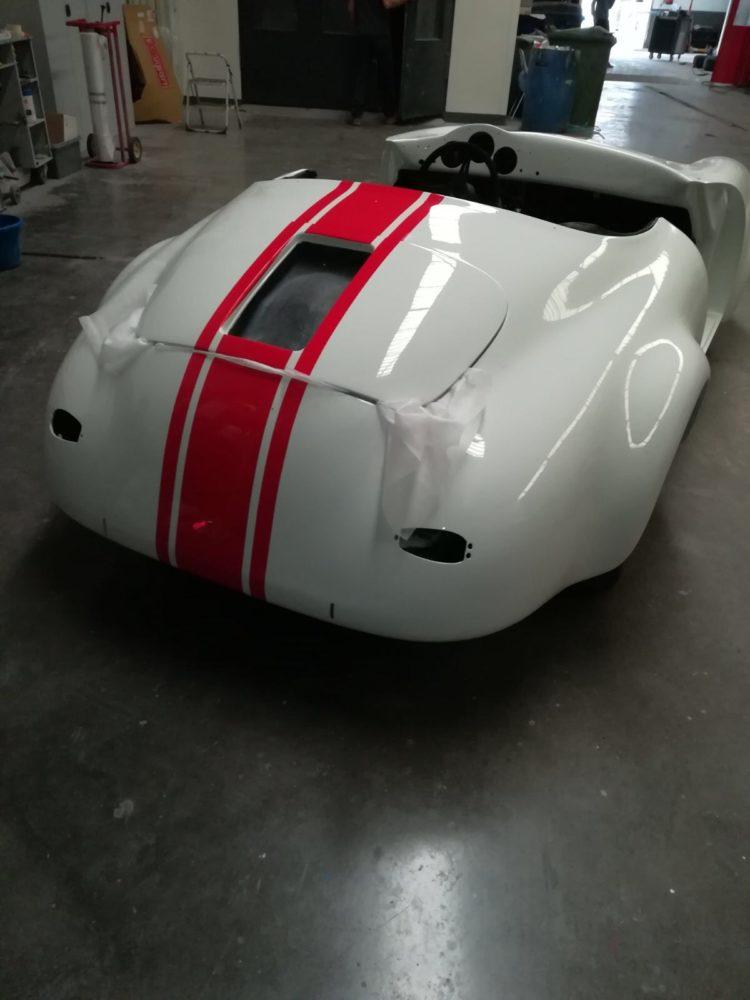 356 Speedster - Peinture