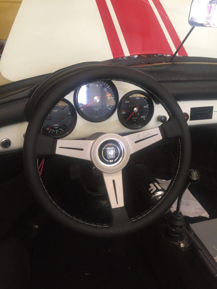356 Speedster - Tableau de bord